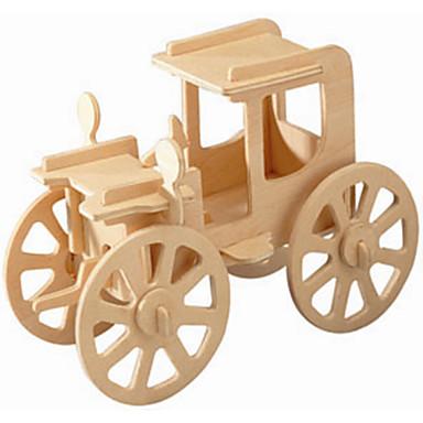 Fából készült építőjátékok Modeli i makete Antik autó szakmai szint Fa 1pcs Gyermek Fiú Ajándék