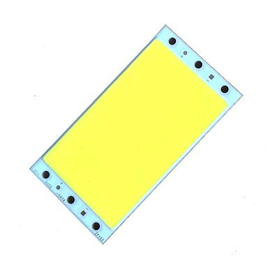 zdm diy 18-25w 2000lm холодный белый / теплый белый светодиодный квадратный встроенный источник света (dc12-14v 1.6a)