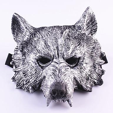 Halloween maszkok Álarcosbál maszkok Játékok Farkasfej Gumi Étel és ital 1 Darabok Mindszentek napja Ajándék