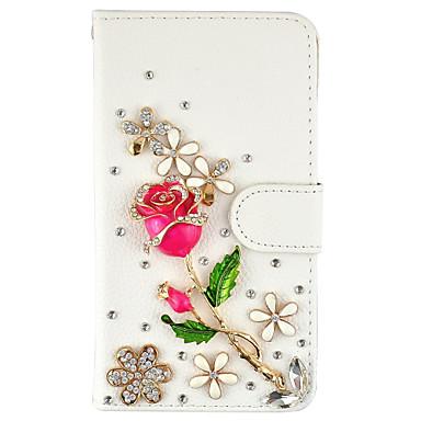 케이스 제품 Samsung Galaxy 지갑 카드 홀더 크리스탈 스탠드 플립 풀 바디 버터플라이 하드 인조 가죽 용 Note 5 Note 4 Note 3
