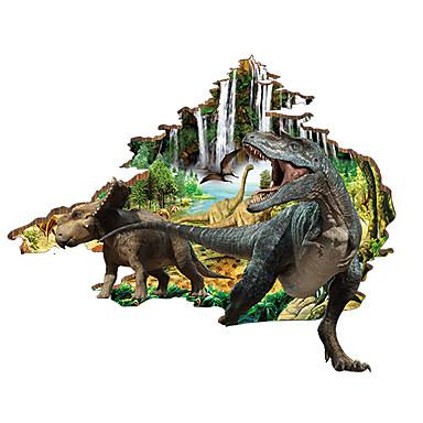 Zwierzęta Naklejki Naklejki ścienne 3D Dekoracyjne naklejki ścienne, PVC Dekoracja domowa Naklejka Ściana
