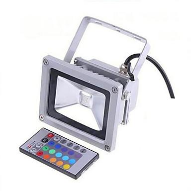 LED projektorok Távvezérelt Tompítható Vízálló Dekoratív Távvezérlésű Kültéri világítás RGB AC 85-265V