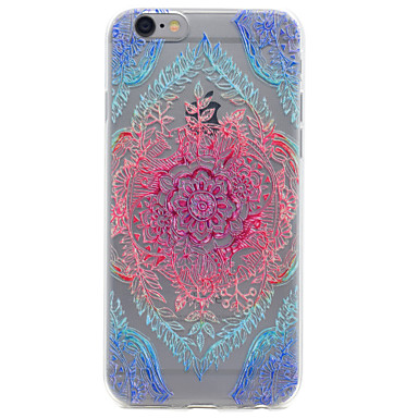 Mert Minta Case Hátlap Case Csipke dizájn Puha TPU Apple iPhone 7 Plus / iPhone 7 / iPhone 6s Plus/6 Plus / iPhone 6s/6 / iPhone SE/5s/5
