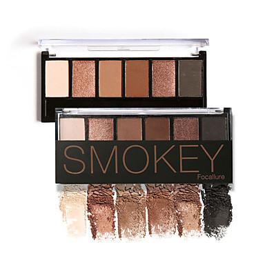FOCALLURE 6pcs Púder Smokey šminka Mačkasta šminka Nježna šminka Party šminka Šminka za Noć vještica Dnevna šminka