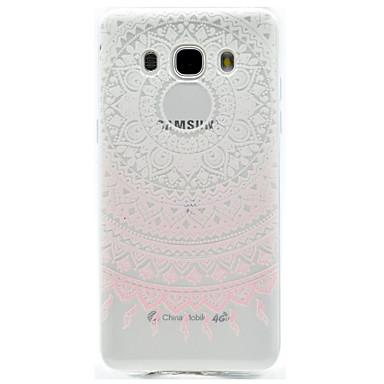 Case Kompatibilitás Samsung Galaxy J7 Prime J5 Prime Minta Hátlap csipke nyomtatás Puha TPU mert J7 (2016) J7 Prime J5 (2016) J5 Prime J3