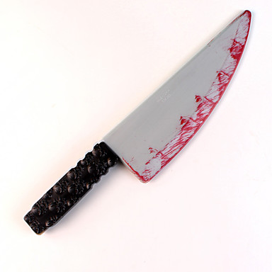 1 개의 만성 칼 만성 의상 파티 소품 장식 (패턴은 랜덤)