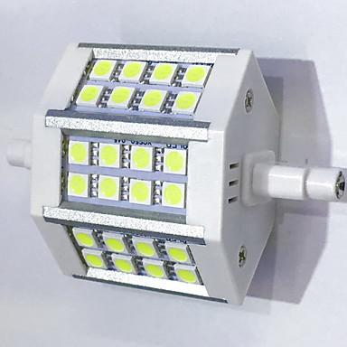 400 lm R7S Żarówki LED kukurydza T 24LED Diody lED SMD 5050 Dekoracyjna Ciepła biel Zimna biel AC 85-265V
