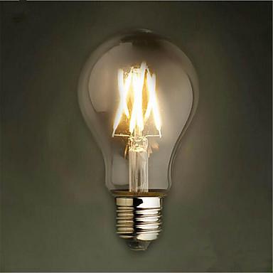 1szt 650-750lm E26 / E27 Żarówka dekoracyjna LED A60(A19) 8 Koraliki LED COB Dekoracyjna Ciepła biel Zimna biel Żółty 85-265V