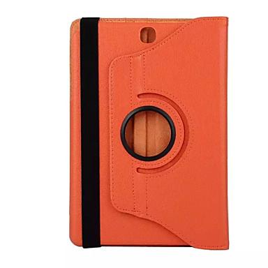 Coque Pour Samsung Galaxy Un onglet 8,0 Coque Intégrale Cas de la tablette Couleur Pleine Dur faux cuir pour