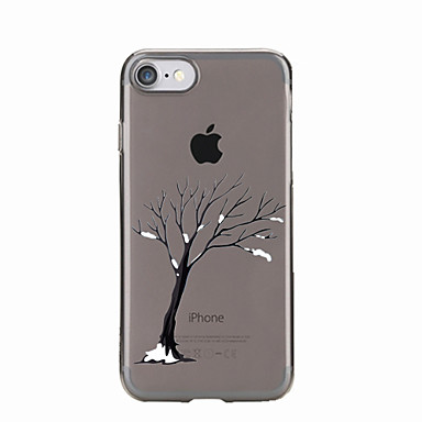 إلى شفاف / نموذج غطاء غطاء خلفي غطاء شجرة ناعم TPU إلى Appleفون 7 زائد / فون 7 / iPhone 6s Plus/6 Plus / iPhone 6s/6 / iPhone SE/5s/5 /