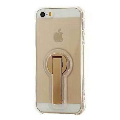 Için Satandlı Pouzdro Arka Kılıf Pouzdro Solid Renkli Yumuşak TPU için AppleiPhone 7 Plus / iPhone 7 / iPhone 6s Plus/6 Plus / iPhone