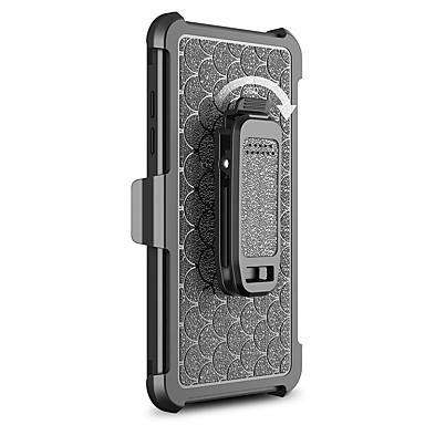 Kılıf Na Samsung Galaxy S7 edge S7 Odporne na wstrząsy Z podpórką Pełne etui Solid Color Twarde PC na S7 edge S7