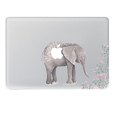 1 قطعة مقاومة الحك اللعب بشعار آبل بلاستيك شفاف لاصق الجسم نموذج إلىMacBook Pro 15'' with Retina MacBook Pro 15'' MacBook Pro 13'' with