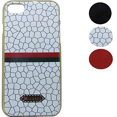 Mert Galvanizálás / Minta Case Hátlap Case Vonalak / hullámok Puha TPU Apple iPhone 7 Plus / iPhone 7