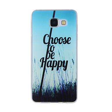 Pouzdro Uyumluluk Samsung Galaxy A5(2016) A3(2016) Temalı Arka Kılıf Manzara Yumuşak TPU için A8(2016) A5(2016) A3(2016) A8 A7 A5 A3