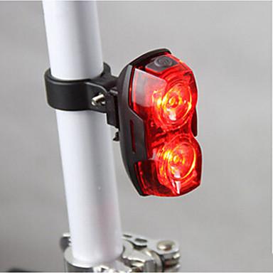 Polkupyörän jarruvalo takavalot LED Pyöräily Vedenkestävä Erityiskevyet AAA Lumenia Akku Pyöräily