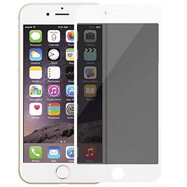 Képernyővédő fólia Apple mert iPhone 7 Plus Edzett üveg 1 db Kijelzővédő fólia 9H erősség 2.5D gömbölyített szélek