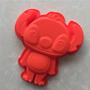 Lód Czekoladowy Pizza Placek Cupcake Ciasteczka Tort Chleb Other Silikonowy DIY Wysoka jakość 3D Nieprzylepny Forma do pieczenia
