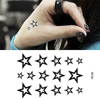 1 Tatuointitarrat EläinsarjaVauva / Lapsi / Naisten / Miesten Flash Tattoo väliaikaiset tatuoinnit