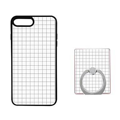 إلى حامل الخاتم غطاء غطاء خلفي غطاء نموذج هندسي ناعم TPU إلى Apple فون 7 زائد / فون 7 / iPhone 6s Plus/6 Plus / iPhone 6s/6