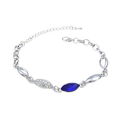 Damskie Bransoletki z breloczkami Kryształ Modny Europejski Kryształ Szkło Biżuteria Na Ślub Impreza Specjalne okazje Urodziny