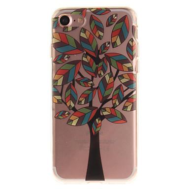 Için iPhone 7 Kılıf iPhone 6 Kılıf Kılıflar Kapaklar IMD Arka Kılıf Pouzdro Ağaç Yumuşak TPU için Apple iPhone 7 iPhone 6s iphone 6