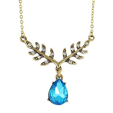 Κολιέ Στρας Κρεμαστά Κολιέ Κοσμήματα Καθημερινά / Causal Βασικό Κράμα Γυναικεία 1pc Δώρο χαλκός