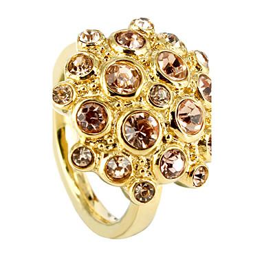 Γυναικεία Δαχτυλίδι Cubic Zirconia Πολυτέλεια Ανοξείδωτο Ατσάλι Στρας Κοσμήματα Γάμου Πάρτι Καθημερινά Causal