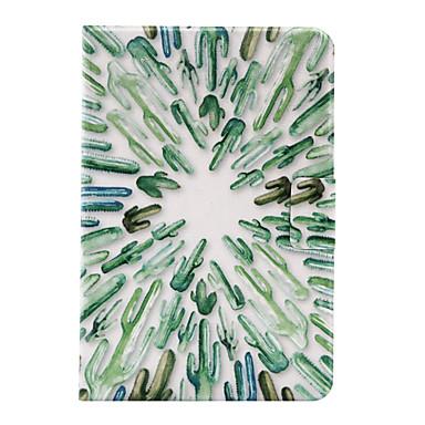 Kılıf Na Apple Mini iPad 4 Mini iPad 3/2/1 Etui na karty Origami Czarne etui Rysunek Twarde Skóra PU na iPad Mini 4 iPad Mini 3/2/1 Apple