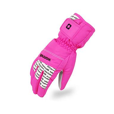 Γιούνισεξ Χειμωνιάτικα Γάντια Γάντια του σκι Ολόκληρο το Δάχτυλο Διατηρείτε Ζεστό Γάντια για Δραστηριότητες/ Αθλήματα Βαμβάκι Γάντια για
