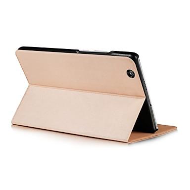 Kılıf Na Huawei Pełne etui Przypadki tablet Solid Color Twarde Skóra PU na