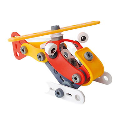Klocki na prezent Klocki Model / klocki Samochód Helikopter Tworzywo sztuczne 5-7 lat 8-13 lat 14 lat i powyżej Srebrny żółty Zabawki