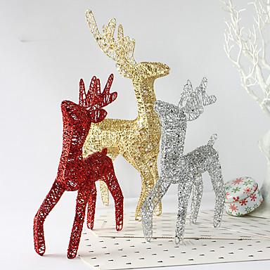 3colour prezenty świąteczne dekoracje Rola ofing ozdoby choinkowe Boże Narodzenie prezent na Boże Narodzenie renifery