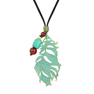 Damskie Naszyjniki z wisiorkami Biżuteria Stop Modny Green Biżuteria Na Codzienny Casual 1szt