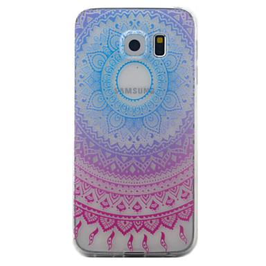 tok Για Samsung Galaxy S7 edge S7 Διαφανής Με σχέδια Πίσω Κάλυμμα Ονειροπαγίδα Μαλακή TPU για S7 edge S7 S6 edge S6 S5