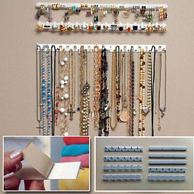 jóias com ganchos / ganchos de parede de jóias / recebem armazenamento em rack de jóias