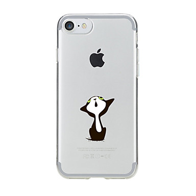 retro TPU Transparente Per Apple Custodia iPhone 7 disegno logo Custodia iPhone 05457956 Fantasia 6 7 5 Per iPhone Morbido Apple Con iPhone per UzwOzq