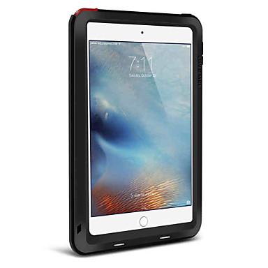 Case Kompatibilitás Apple iPad Mini 4 Ütésálló Héjtok Tömör szín Kemény Fém mert iPad Mini 4 Apple
