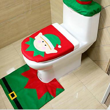 christmas eredetiség háromrészes WC elf modell