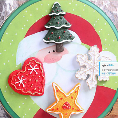 크리스마스 크리 에이 티브 입체 자석 걸쇠 냉장고 자석 패턴은 랜덤