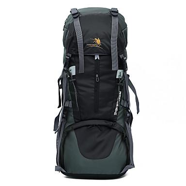 65 L Retkeilyreput Travel Organizer Backpack Retkeily ja vaellus Matkailu Monitoiminen Nylon