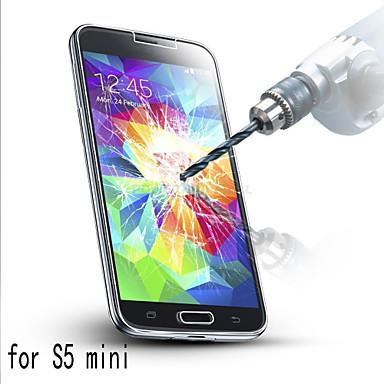 protetor de tela de vidro temperado ultra-fino anti-risco para Samsung Galaxy mini-s5
