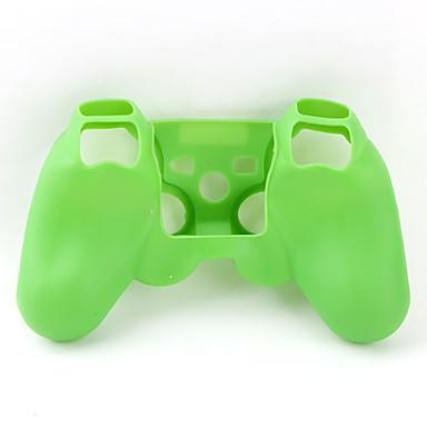 Custodia protettiva in silicone per il controller di ps3 (verde)