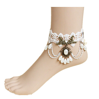 Dantel Ayak bileziği - Kadın's Gelin / Avrupa Ayak bileziği Uyumluluk Günlük
