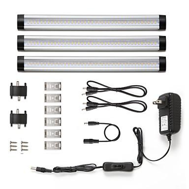 Недорогие LED освещение для шкафчиков-Светодиодные бусины Простая установка LED освещение для шкафчиков Тёплый белый Естественный белый 12 V Кладовая / 3 шт.