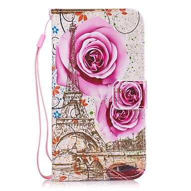 Etui Käyttötarkoitus Samsung Galaxy S8 Plus S8 Korttikotelo Lomapkko Tuella Takakuori Kukka Kova PU-nahka varten S8 Plus S8 S7 edge S7 S6