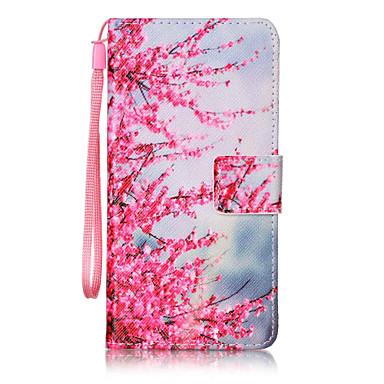 Pouzdro Uyumluluk Samsung Galaxy A5(2016) A3(2016) Cüzdan Kart Tutucu Flip Temalı Tam Kaplama Çiçek Sert PU Deri için A5(2016) A3(2016)