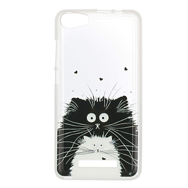 For Wiko Lenny 3 Sunset 2 Case Cover Cat Pattern Back Cover Soft TPU Lenny 3 Sunset 2