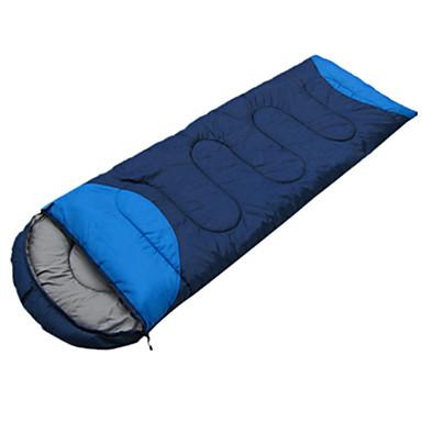 Śpiwór Śpiwór typu Koperta Pojedyncze 10 Puch kaczyX100 Kemping Podróżowanie Wewnątrz Dobrze wentylowanym Wodoodporny Przenośny