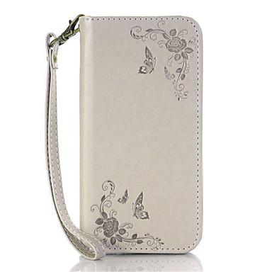 tok Για Nokia Lumia 640 Nokia Θήκη καρτών με βάση στήριξης Ανοιγόμενη Πλήρης Θήκη Λουλούδι Σκληρή PU δέρμα για